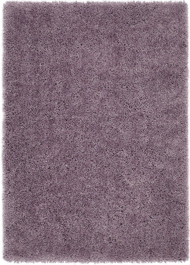 The Rug House Chicago Lavender Purple Soft Thick Non Shed Easy Clean Solid Shaggy Shag Rugs For Living Room