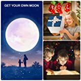 Extra Large!!! GPJOY 3D Moon Lamp Rechargeable