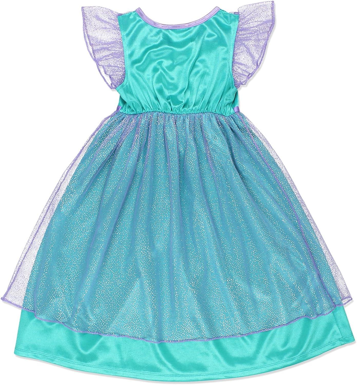 Disney Girls Princess Little Mermaid Ariel Dress Up Nightgown