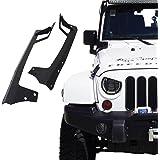 Xprite 52-inch LED Light Bar Upper Windshield Mounting Bracket 2007-2017 Jeep Wrangler JK 4WD, Wrangler Unlimited JK 4WD/2WD