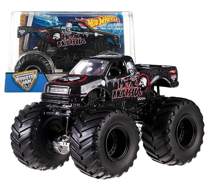Hot Wheels - Monster Jam 1:24 Surtido/Modelos Aleatorios, 1 unidad (Mattel CBY61): Amazon.es: Juguetes y juegos