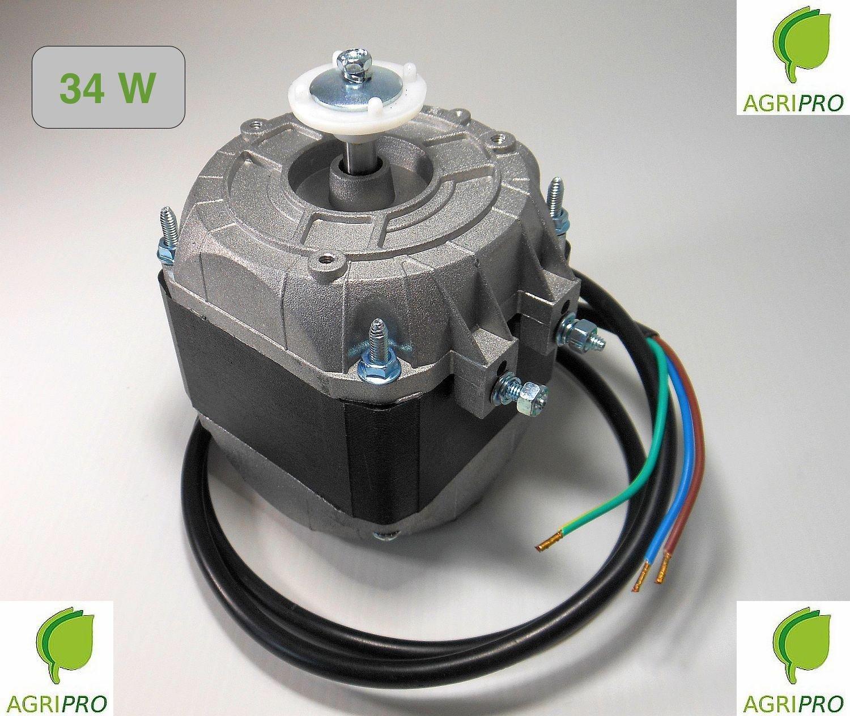 MOTOR FAN pentavalente W 34Compressor Fridge elettroventilatore AGRIPRO