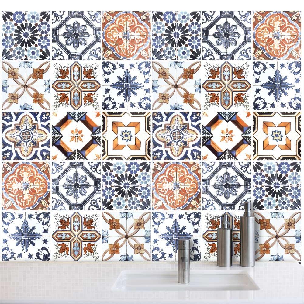 Piastrelle bagno 15x15 petrae with piastrelle bagno 15x15 for Maioliche adesive