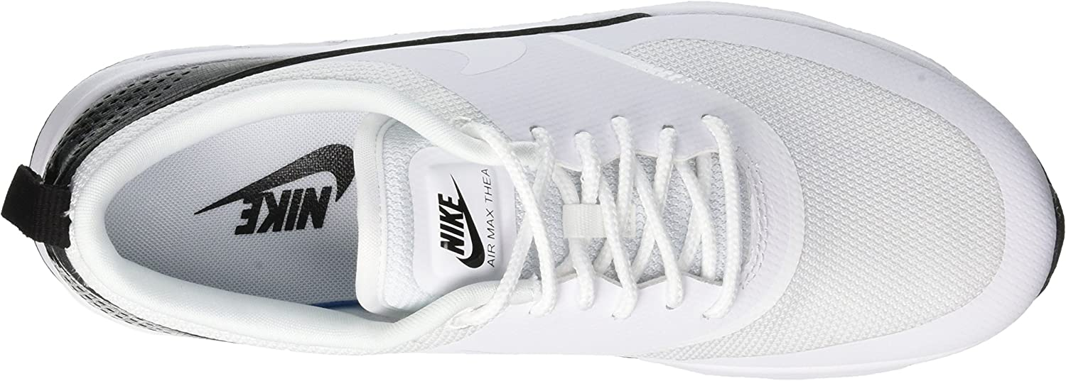 nice shoes new cheap best authentic Amazon.com | Nike Women's Air Max Thea Low-Top Sneakers, White ...