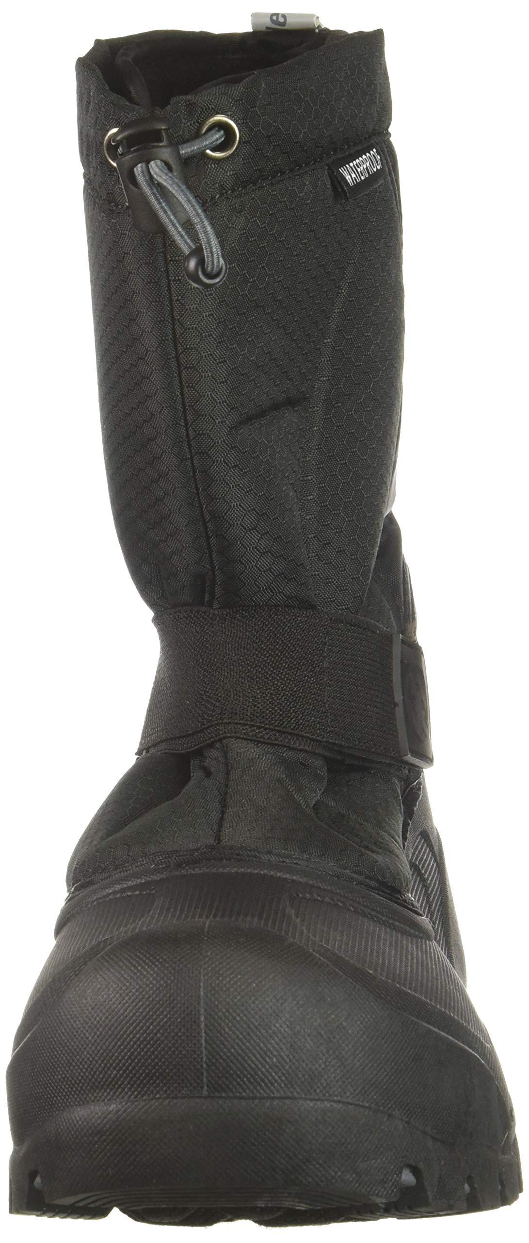 Northside Zephyr Snow Boot, Onyx, 6 Medium US Big Kid by Northside (Image #4)
