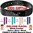 TRENDY PRO Kids Fitness Activity Tracker for Children Adults - Smart Wristband Watch 2 Bands