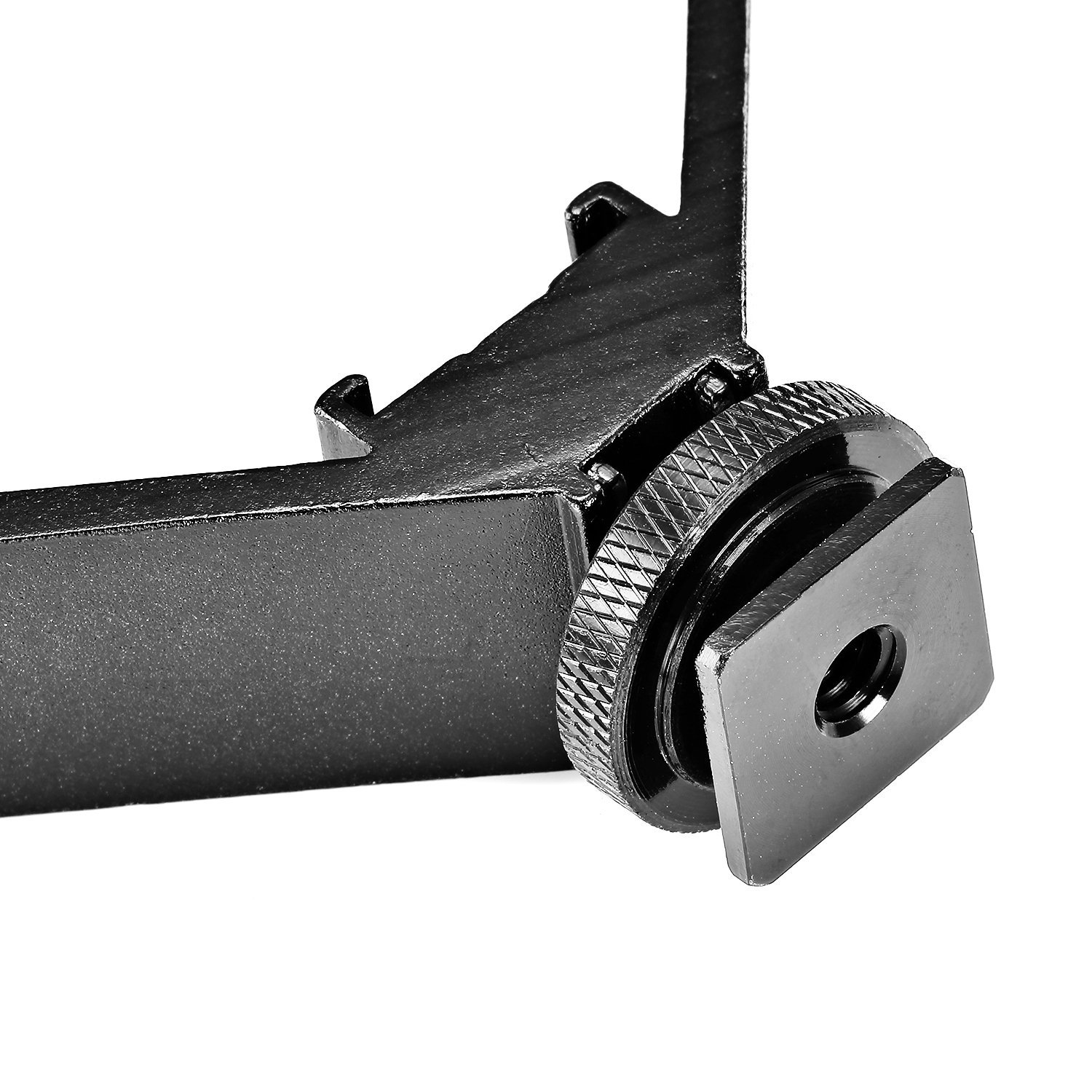 Neewer Aluminium Alloy 5''/12.5cm V-Shape Triple 3 Universal Cold Shoe Mount Bracket for Nikon Canon Sony Pentax DSLR Camera or Camcorder Accessory Such as LED Video Light,Microphone,Monitor,Flash by Neewer
