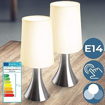 Lámparas de Mesa Táctiles 3 Intensidades de Luz - CEE: C a E ...