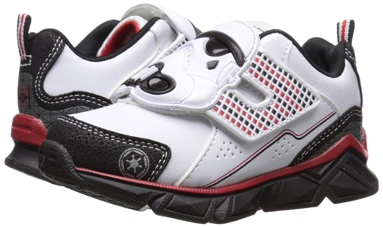 Star Wars Sneakers >> Amazon Com Star Wars Sneaker Toddler Little Kid White Black 2