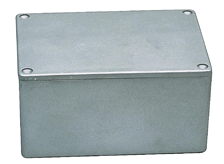 eurosell Bo/îte /à bo/îtier /électronique Bo/îte de raccordement /électrique prise 148/x 108/x 75/mm en aluminium et m/étal