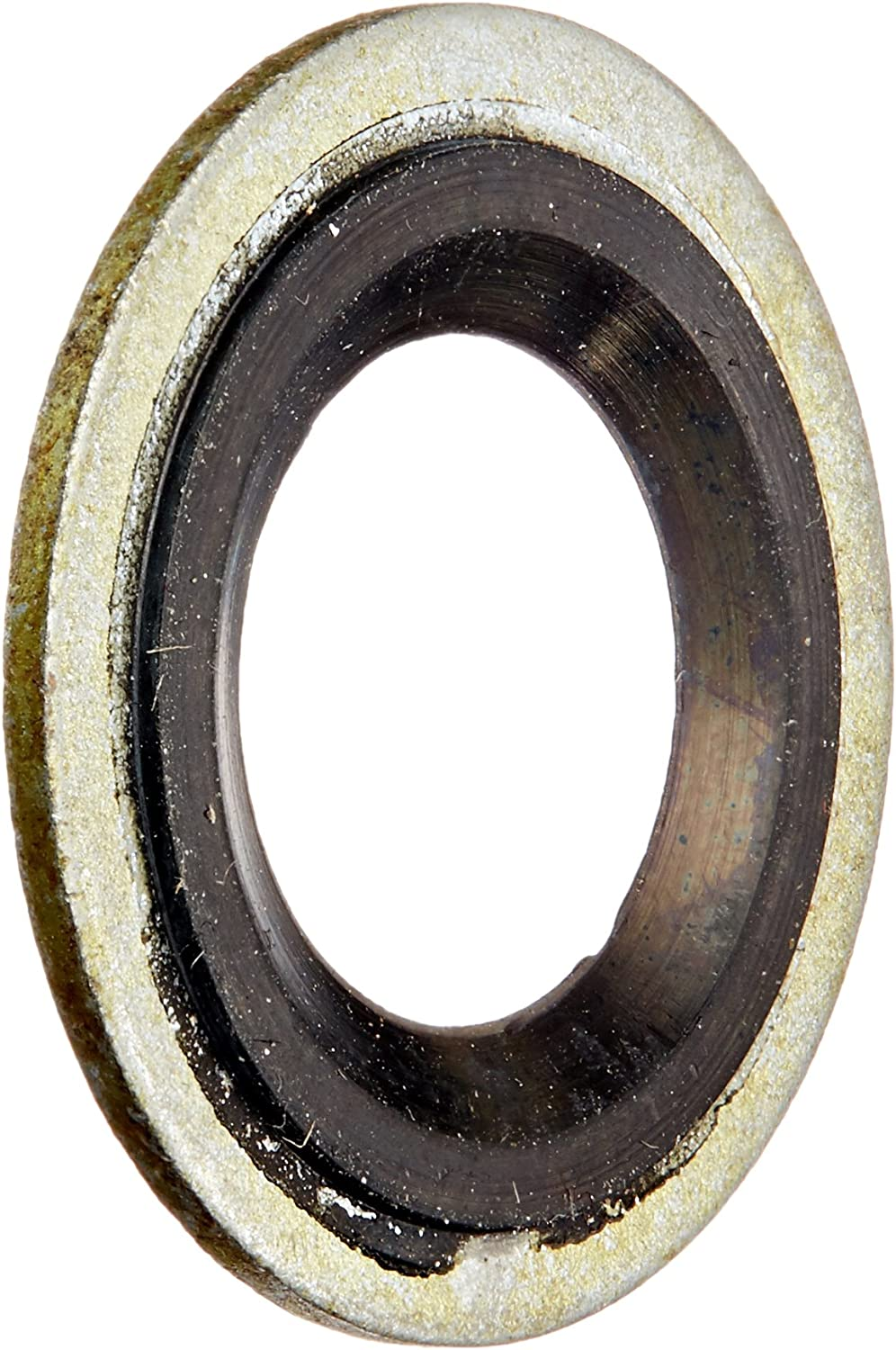 """100 Count Buy Auto Supply # BAS03500 65274 GM 14079550 24.7mm O.D // 11.5mm I.D M12 1//2/"""" Metal Rubber Oil Drain Plug Gasket Aftermarket Replacement fits 097-021 24571185"""