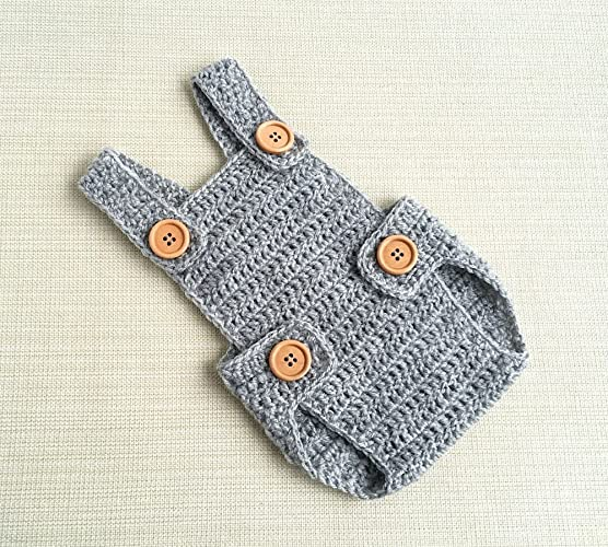7cf47fd7f Baby boy photo outfit Crochet newborn romper Newborn boy photo