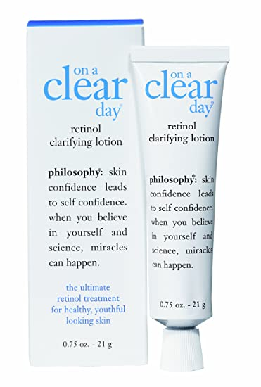 Amazon.com: Philosophy On a Clear Day Retinol Clarifying Lotion, 0.75 Ounce: Beauty