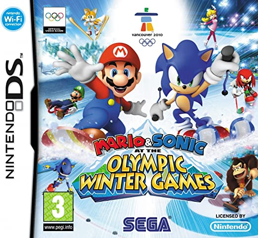 Mario & Sonic at the Olympic Winter Games (Nintendo DS ...