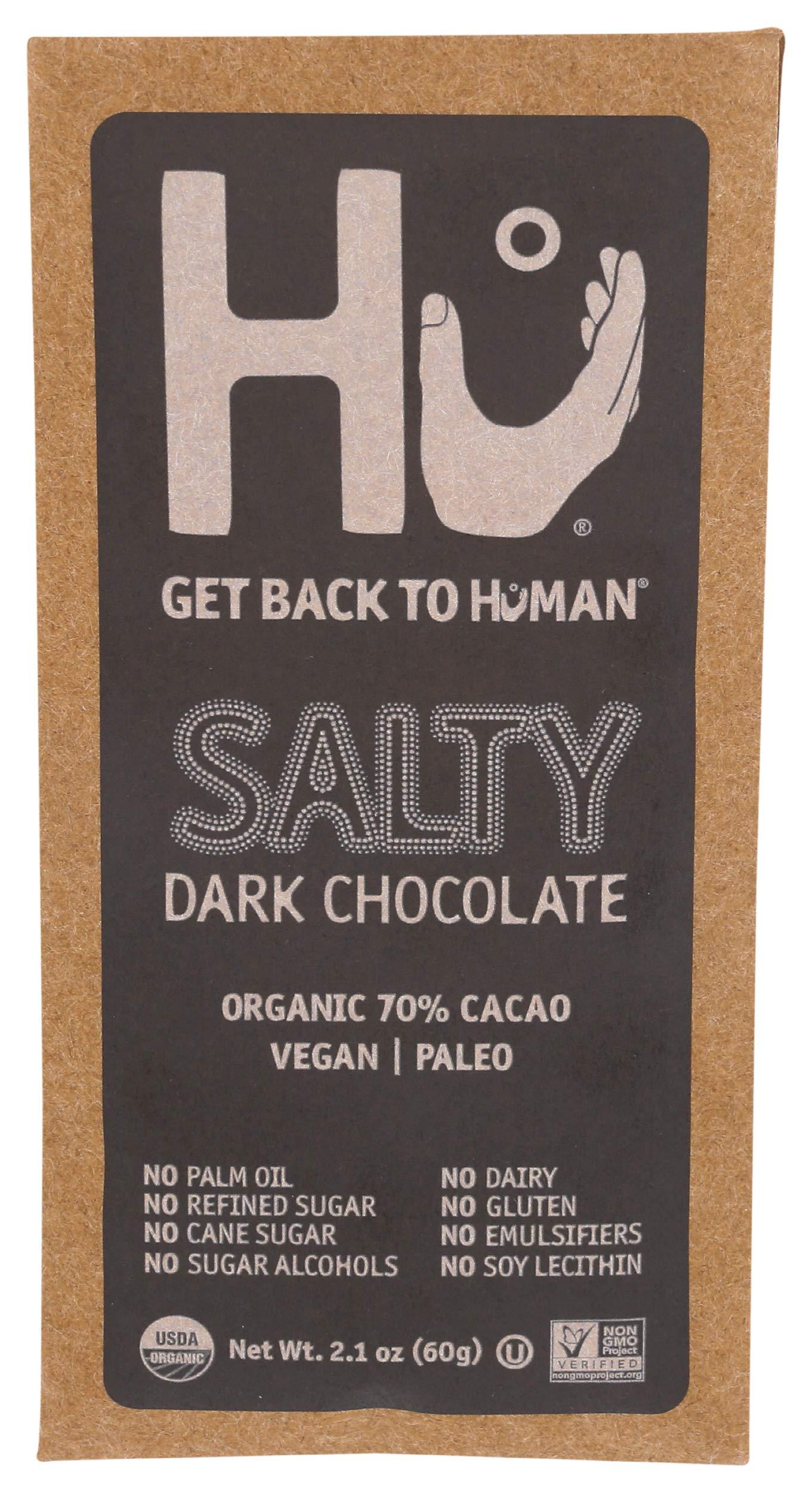 HU KITCHEN Salty Chocolate Bar, 2.1 OZ
