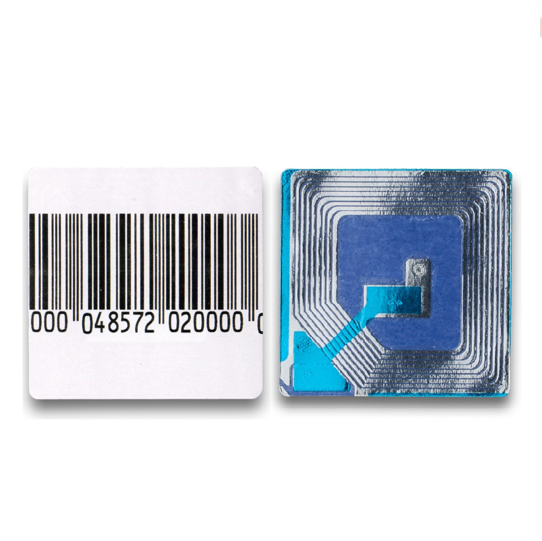 10000 Paper Security Labels 1.5 X 1.5 Inch RF 8.2Mhz Barcode Eas Checkpoint Compatible EAS Loss Prevention by Sensornation (Image #1)