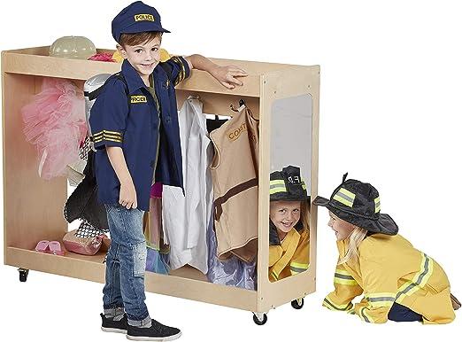Amazon.com: ECR4Kids mueble para disfraces, Natural, 1: Toys ...