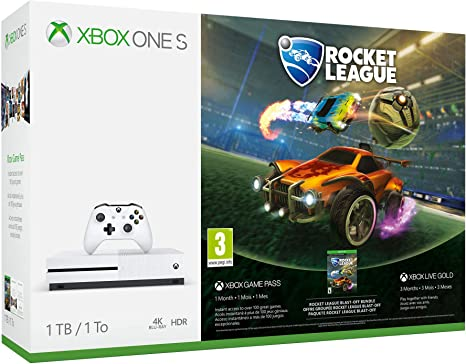 Xbox One S 1 TB + Rocket League: Microsoft: Amazon.es: Videojuegos