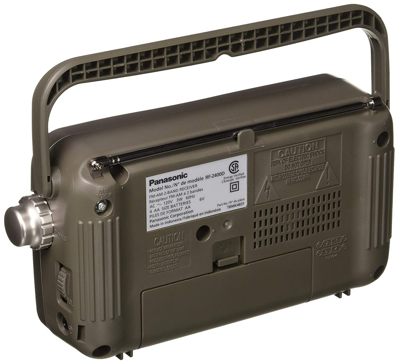 Panasonic Rf 2400d Am Fm Radio Silver Home Audio Amp Wiring Diagram Theater