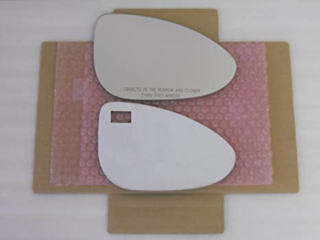 New Replacement Mirror Glass with FULL SIZE ADHESIVE for CHRYSLER 200 300 DODGE CHARGER Passenger Side View Right RH
