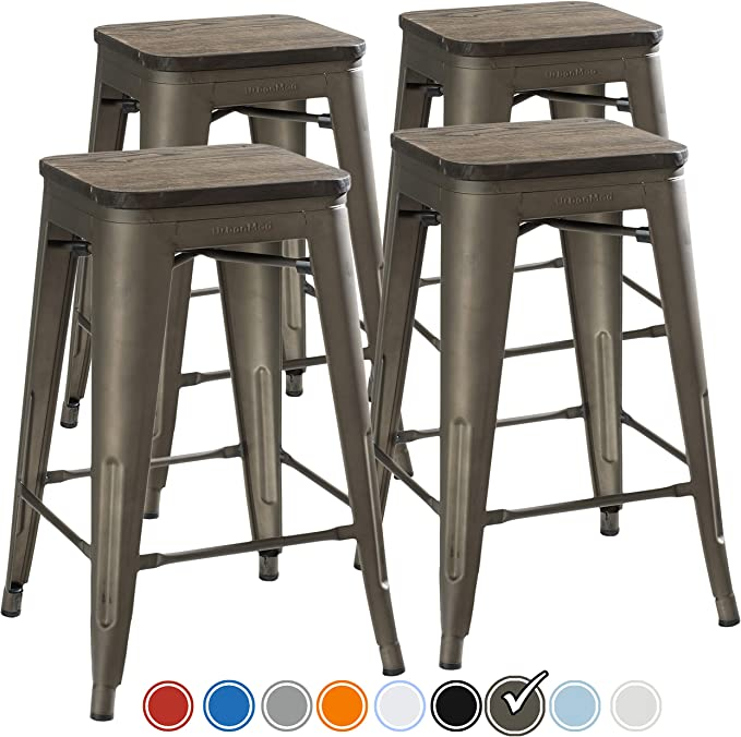 UrbanMod 24 Inch Bar Stools - High-quality Material