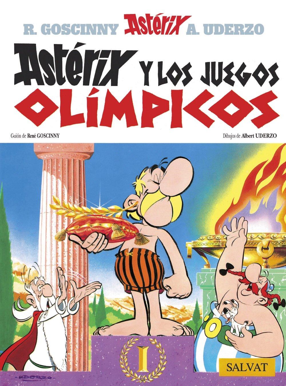 Astérix Y Los Juegos Olimpicos Castellano A Partir De 10 Años Astérix La Colección Clásica Spanish Edition 9788434567306 Uderzo Albert Goscinny René Books