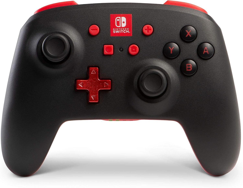 Mando Inalámbrico Mejorado, Negro (Nintendo Switch): Amazon.es: Videojuegos