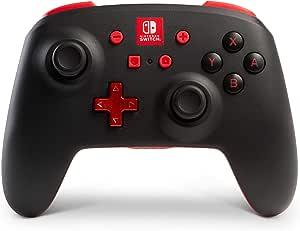 Control inalámbrico PowerA para Nintendo Switch – Negro - Standard Edition