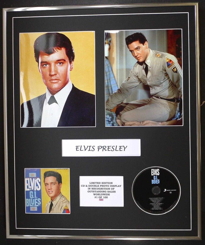 ELVIS PRESLEY/Cd y doble Photo Display / Ltd. Edición / Coa ...