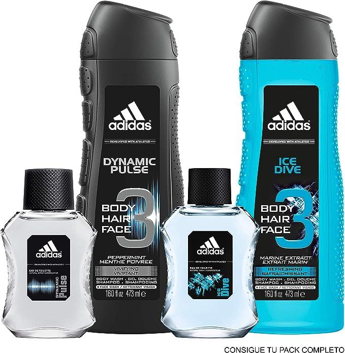 Adidas Ice Dive Eau de Toilette para Hombre - 50 ml.: Amazon.es: Belleza