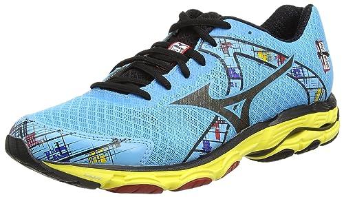 Mizuno W Wave Inspire 10 - Zapatillas running para mujer, Azul (aquarius/black