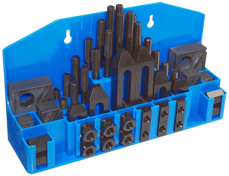 """TE-CO 20402PL Machinist Promo Kit, 5/8"""" Table T-Slot x 1/2-13"""" Stud, 52 Pieces"""