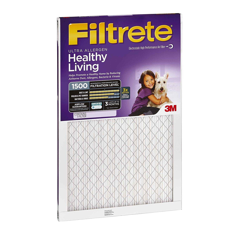 Filtrete Healthy Living - Filtro, 2005-4PK: Amazon.es: Bricolaje y herramientas