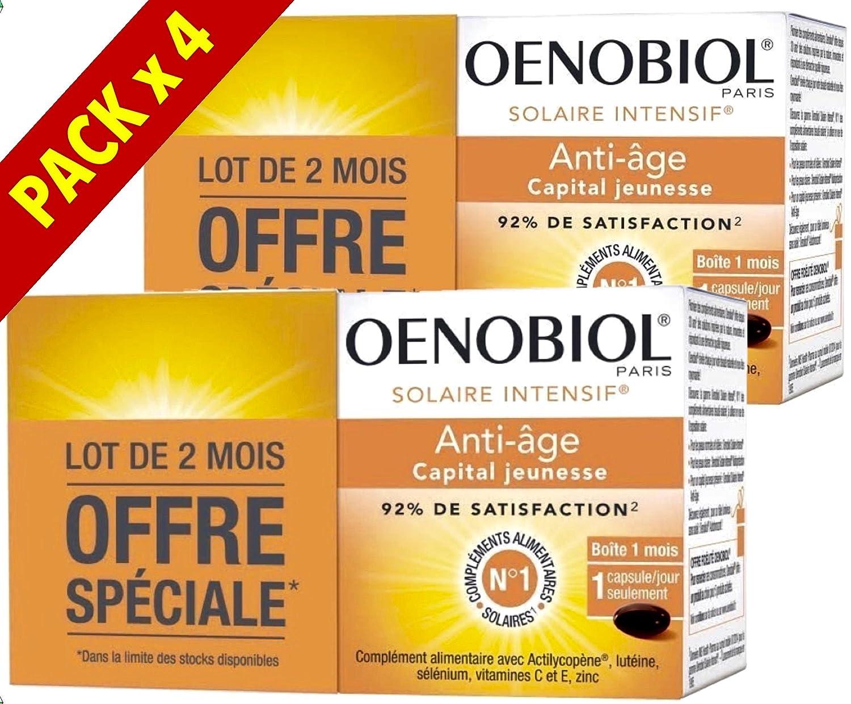 Oenobiol Tan Enhancer Anti-Ageing - 4 x 30 Gel-Caps 271164