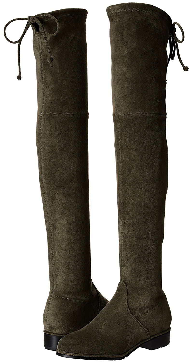 7c7a97d34bd9 Kaitlyn Pan Flat Heel Microsuede Slim fit Over The Knee Boots  Amazon.ca   Shoes   Handbags