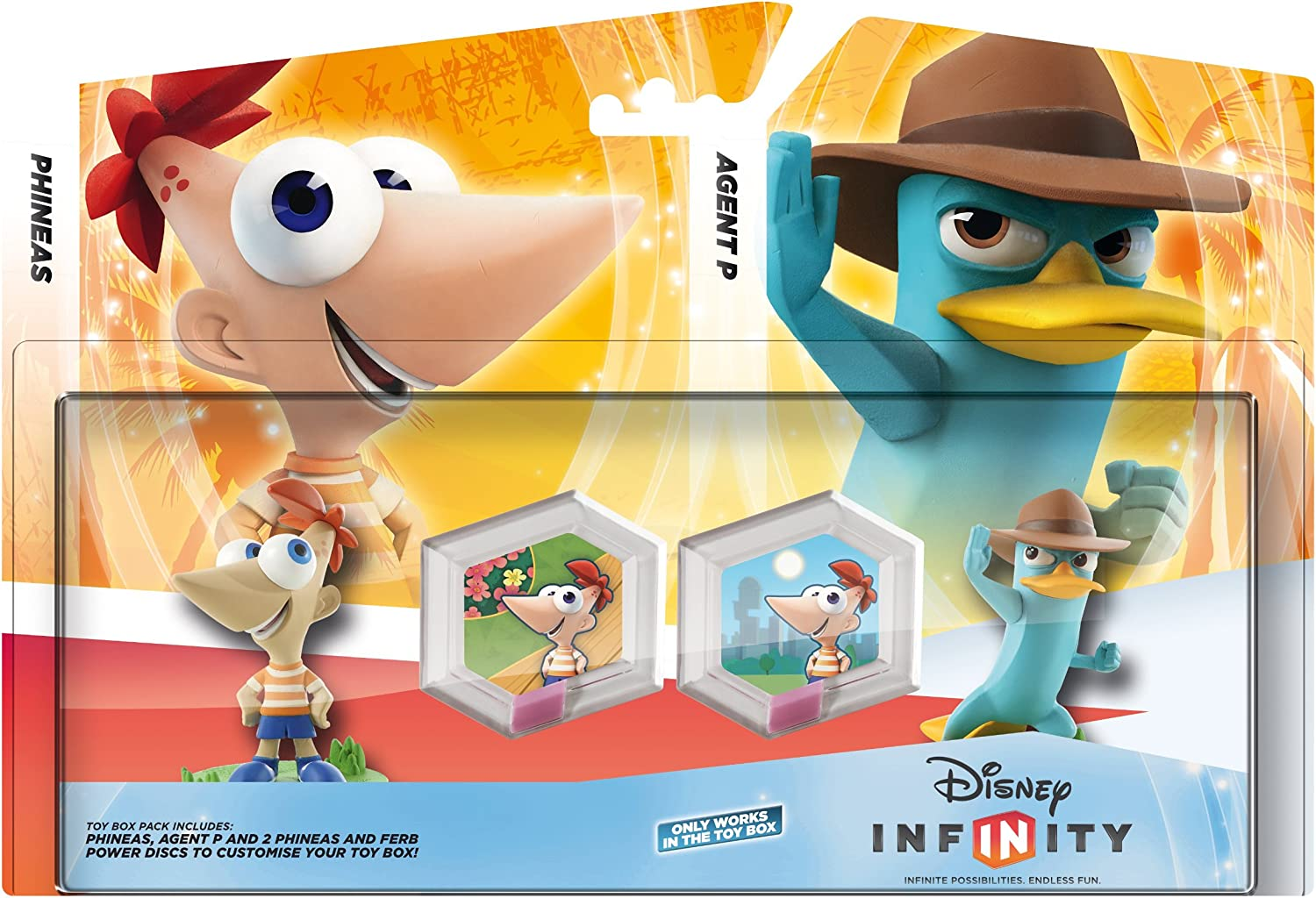 Disney Infinity - Toy Box Set: Phineas (Phineas, Agente P + 2 Power Disc)
