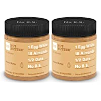 RX Nut Butter, Almond Butter, 10oz Jar, Pack of 2, Keto Snack, Gluten Free