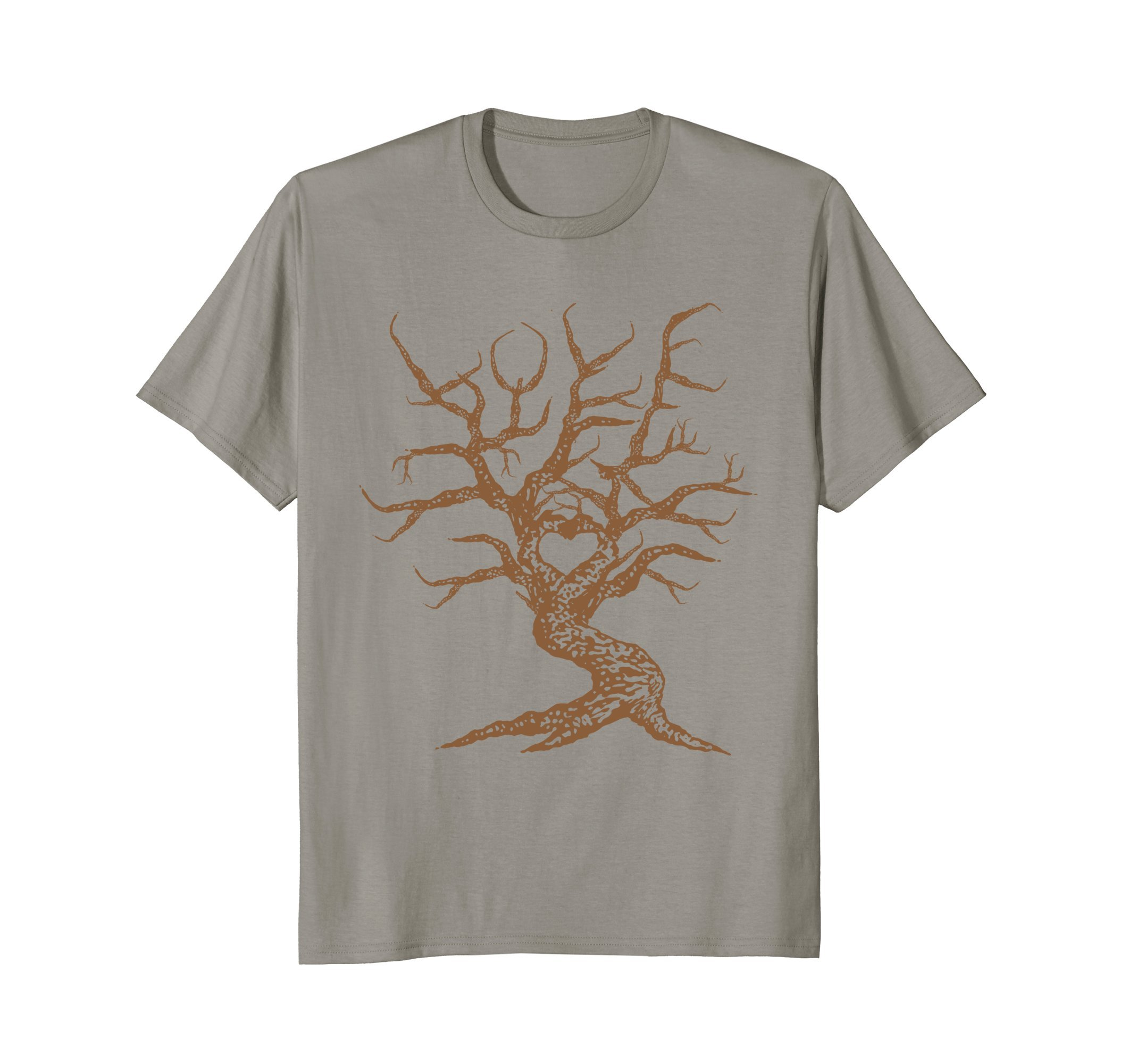 Heart Love Branches Bonsai Tree Japanese Buddhist Zen Shirt