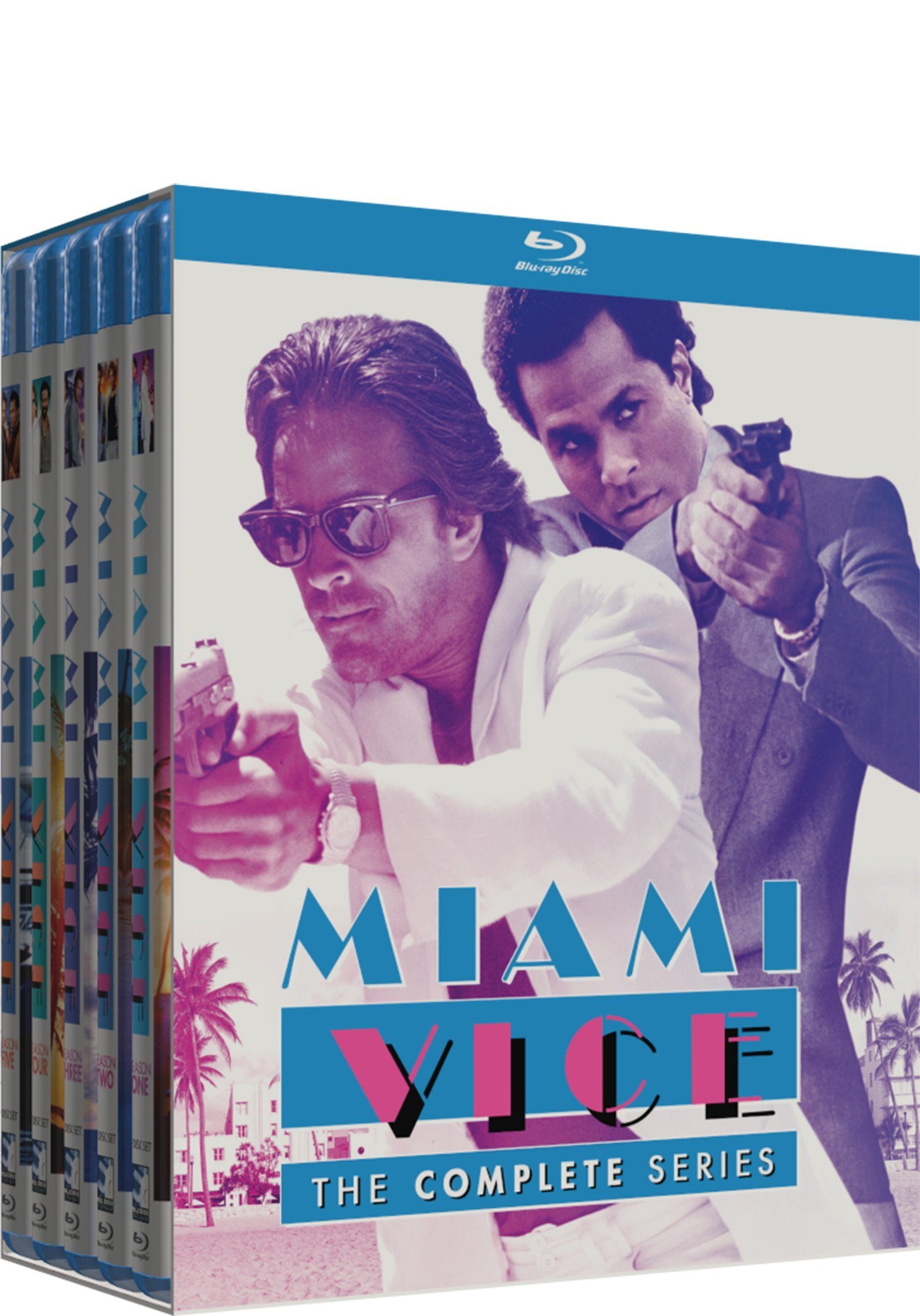Blu-ray : Miami Vice: The Complete Series (20 Disc)