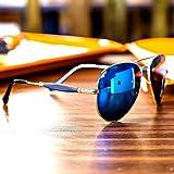 Sheomy Wayfarer Women's/Men's & Boy's/Girl's Combo Of 2 Sunglasses(56,Blue)