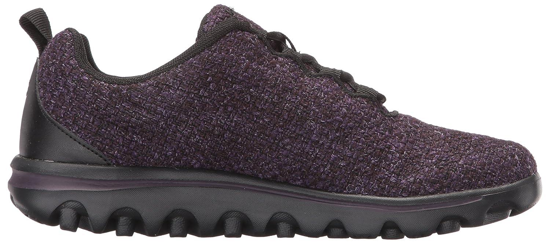 Propet Women's TravelActiv Woven Walking Shoe B01N48H4ZY 12 2E US|Purple