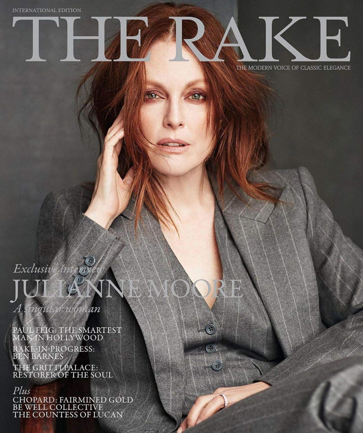 The Rake Magazine March 2019 Julianne Moore Cover The