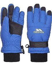 Trespass Ruri II–Guantes de Nieve para niños, Infantil, Color Electric Blue, tamaño Size 2/4