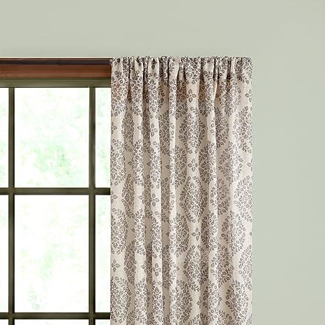 Amazon Kenney Single Curtain Rod 28 To 48 Inch Espresso Home Kitchen