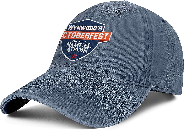 Hat Adjustable Cowboy Cap Running Caps Denim Mens Woman Wynwoods-Octoberfest-Sam-Adams