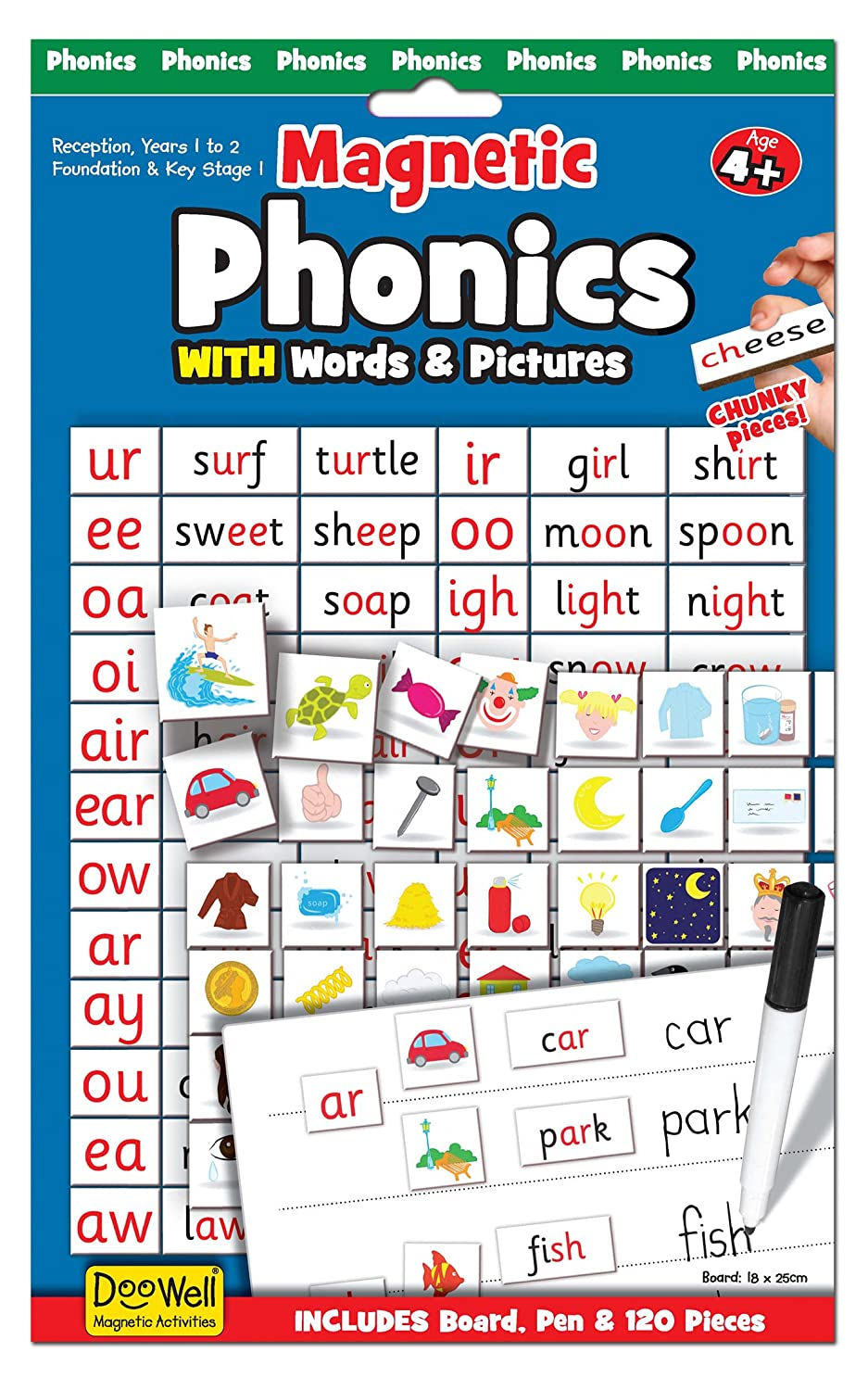 Fiesta Crafts Magnetic Phonics Set