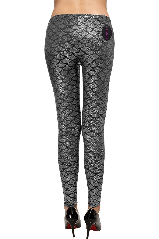 Avidlove Women Leggings Ankle Length Trousers Scale Pencil Pants Thin