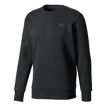 7e9a606de7e1 adidas Herren Essentials 3-Streifen Sweatshirt, Black, XXL  Amazon ...