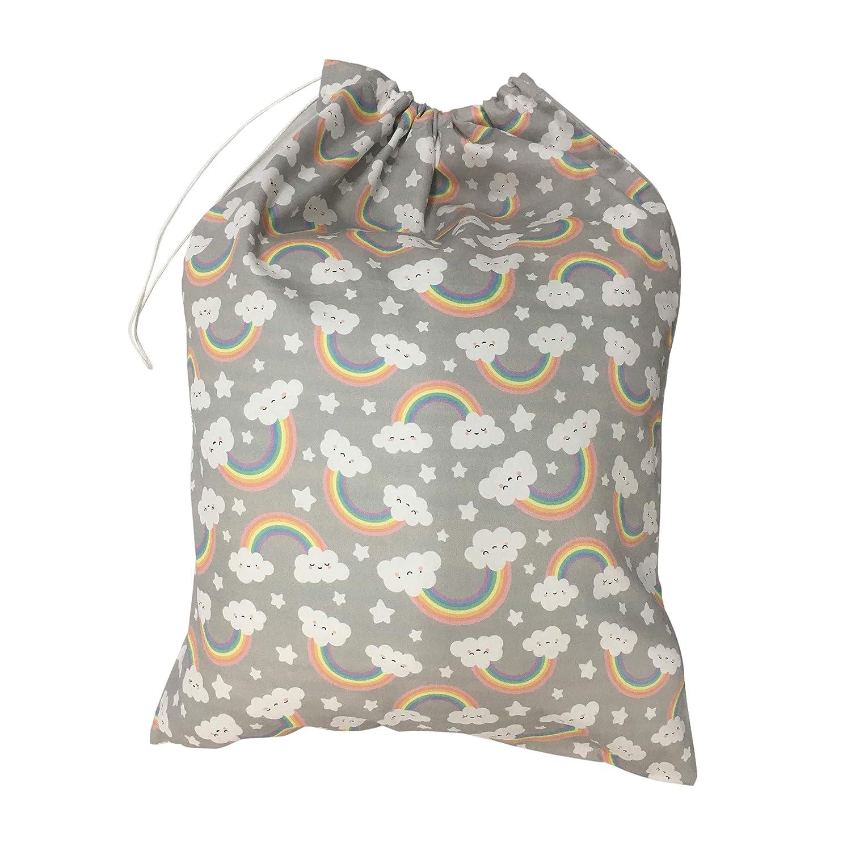 Kindergartentasche f/ür Baby und M/ädchen Kleidung Wickeltasche 100/% Baumwolle 46x60cm