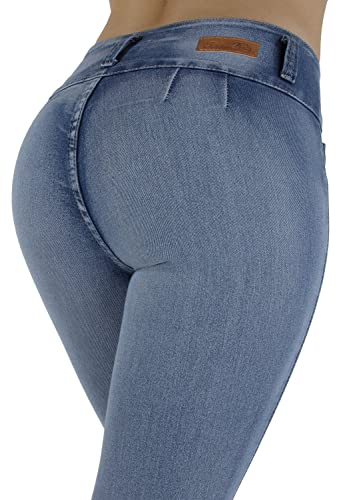Style G208P– Plus Size, Colombian Design, High Waist, Butt Lift, Skinny Jeans